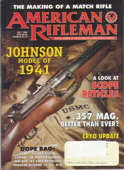American Rifleman - July 1999