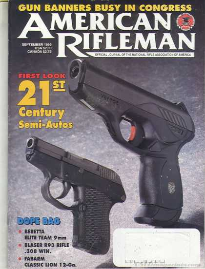 American Rifleman - September 1999