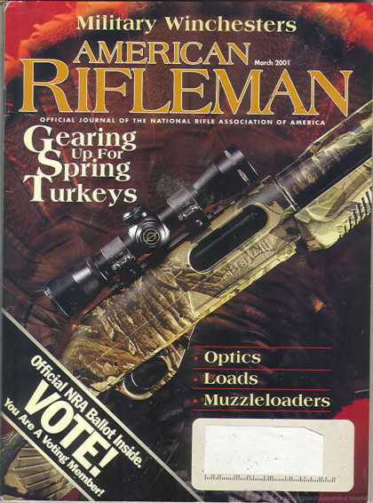American Rifleman - March 2001