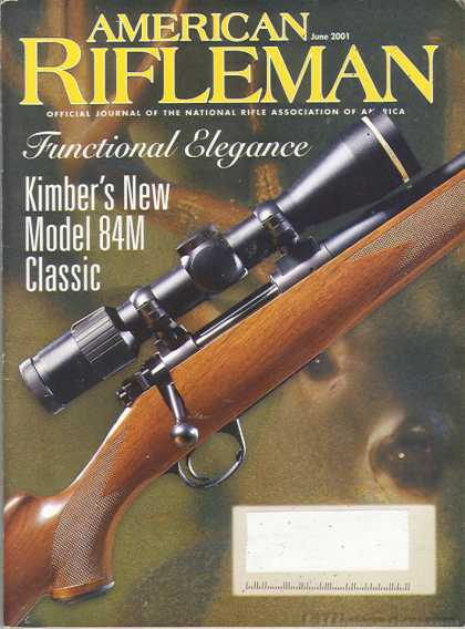 American Rifleman - June 2001