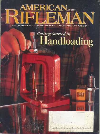 American Rifleman - July 2001