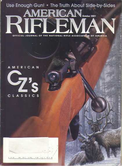 American Rifleman - October 2001