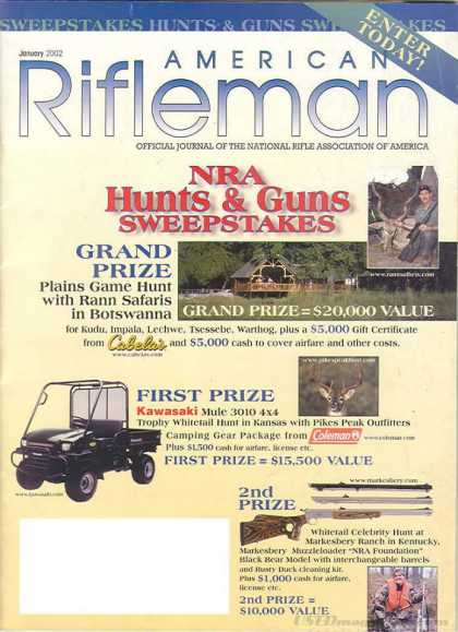 American Rifleman - January 2002