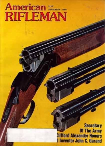1981 American Rifleman Magazines (11 issues)
