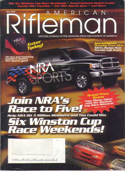 American Rifleman - May 2002