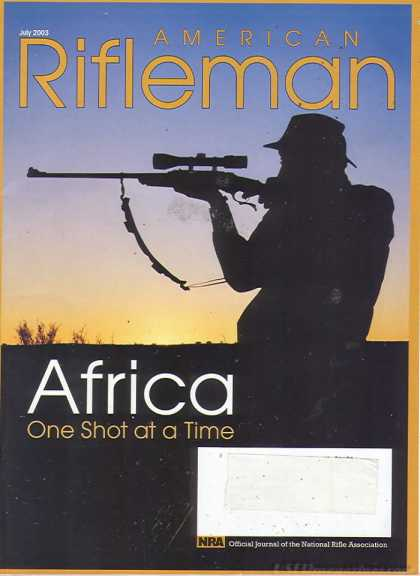 American Rifleman - July 2003