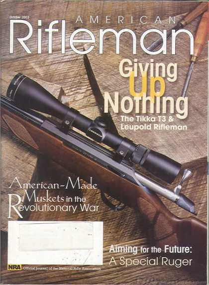 American Rifleman - October 2003