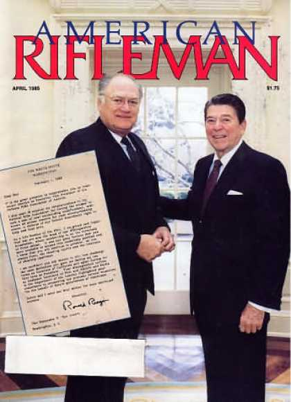 American Rifleman - April 1985