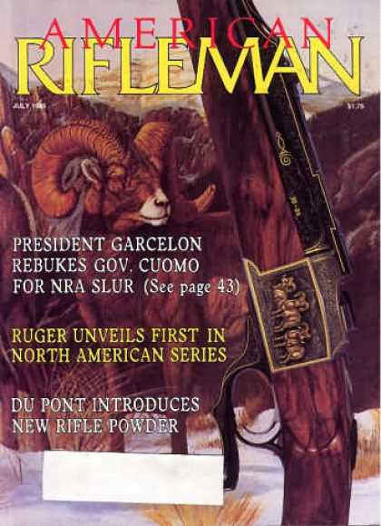 American Rifleman - July 1985