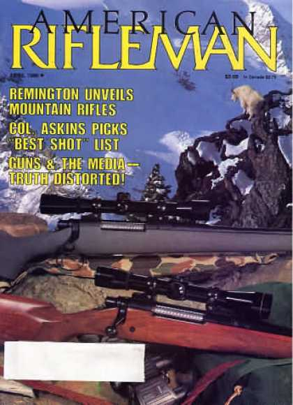 American Rifleman - April 1986