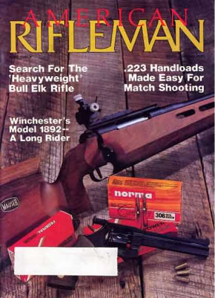 American Rifleman - June 1986