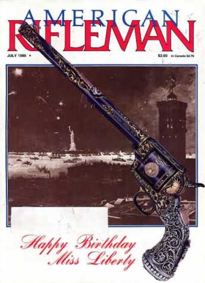 American Rifleman - July 1986