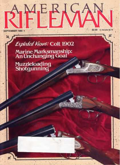 American Rifleman - September 1986