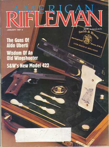 American Rifleman - January 1987