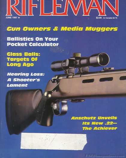 American Rifleman - June 1987