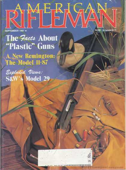 American Rifleman - September 1987