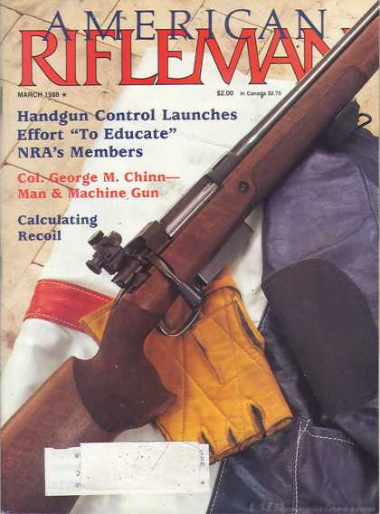 American Rifleman - March 1988