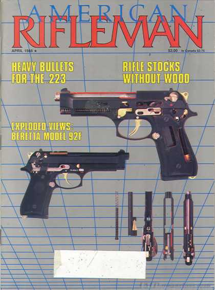 American Rifleman - April 1988