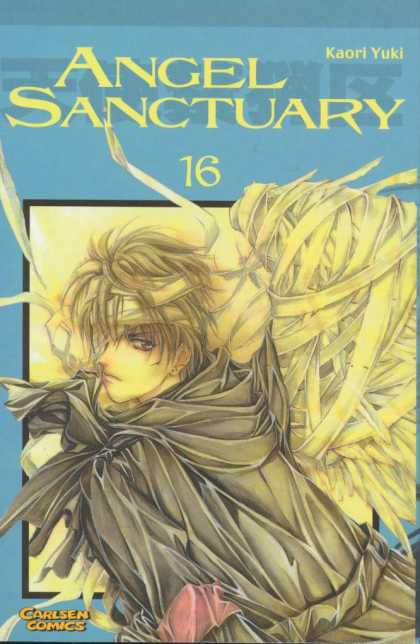Angel Sanctuary 16 - Eyepatch - Bandages - Wings - Black Coat - Red Armband