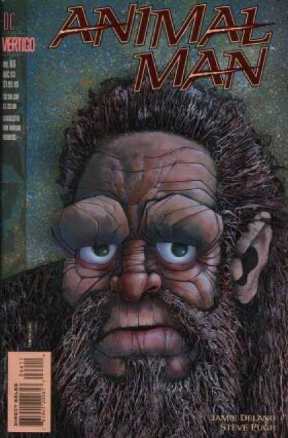 Animal Man 66 - Dc Comics - Vertigo - Ape Man - Beard - Big Eyes