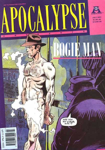 Apocalypse 4 - Cap - July - Cold - Cigarette - Bogle Man - Cam Kennedy