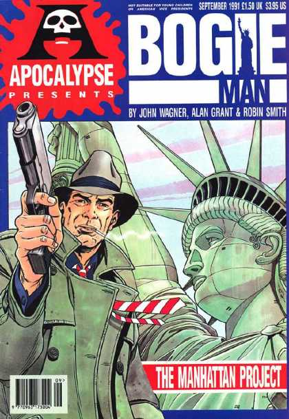 Apocalypse 6 - Bogie Man - Gun - Hat - The Manhattan Project - Statue Of Liberty