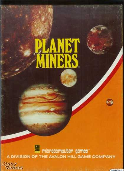 Apple II Games - Planet Miners