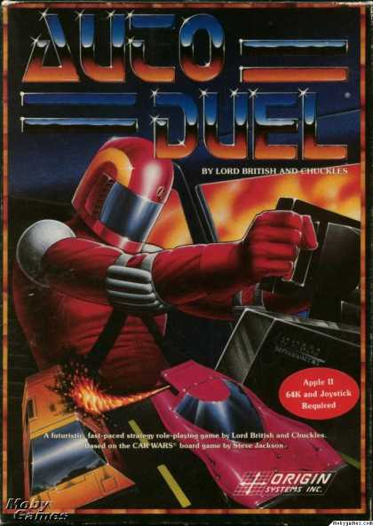 Apple II Games - Autoduel