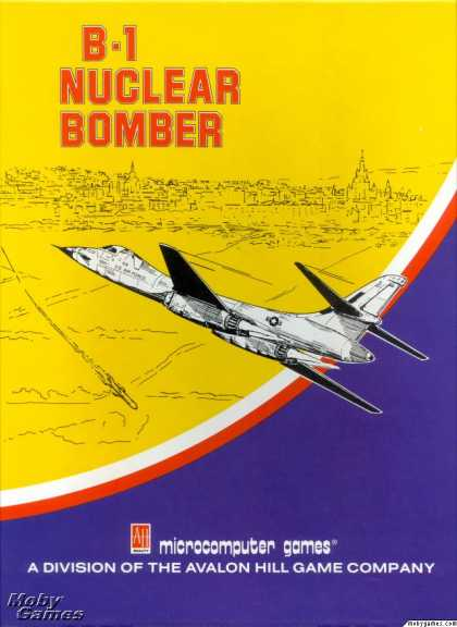 Apple II Games - B-1 Nuclear Bomber
