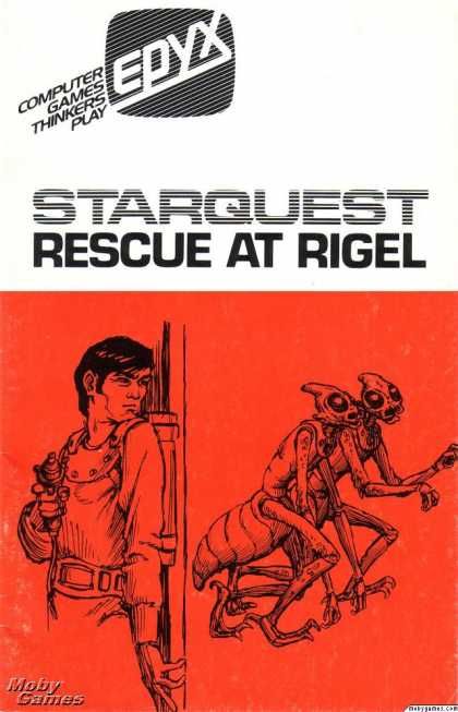 Apple II Games - StarQuest: Rescue at Rigel