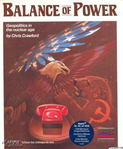Apple II Games - Balance of Power