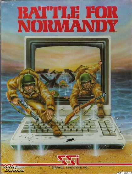 Apple II Games - Battle for Normandy