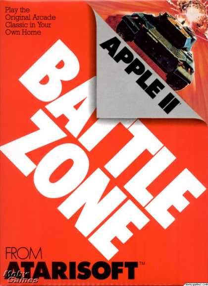 Apple II Games - Battlezone