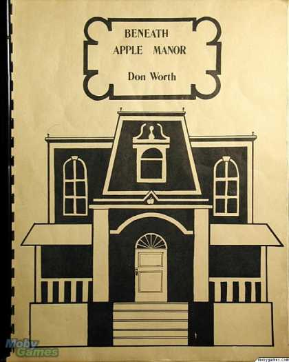 Apple II Games - Beneath Apple Manor