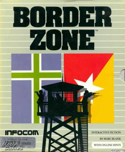 Apple II Games - Border Zone