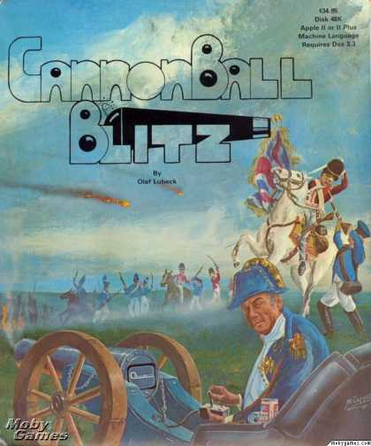 Apple II Games - CannonBall Blitz