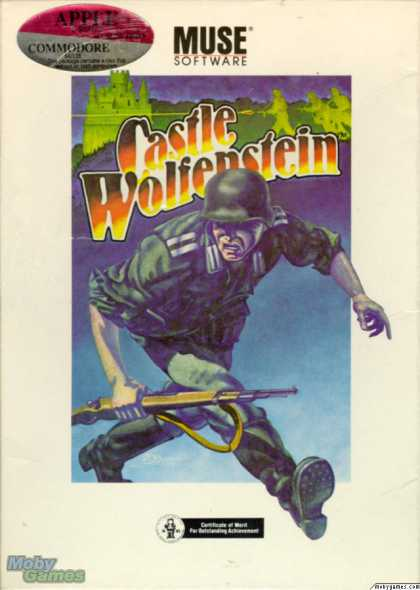 Apple II Games - Castle Wolfenstein