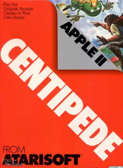 Apple II Games - Centipede