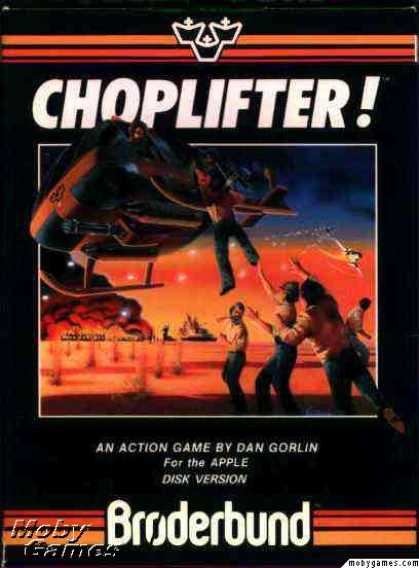 Apple II Games - Choplifter