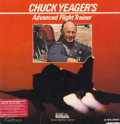 Apple II Games - Chuck Yeager's Advanced Flight Trainer