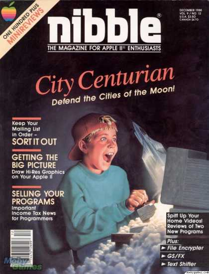 Apple II Games - City Centurian