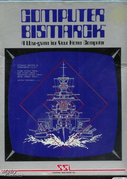 Apple II Games - Computer Bismarck
