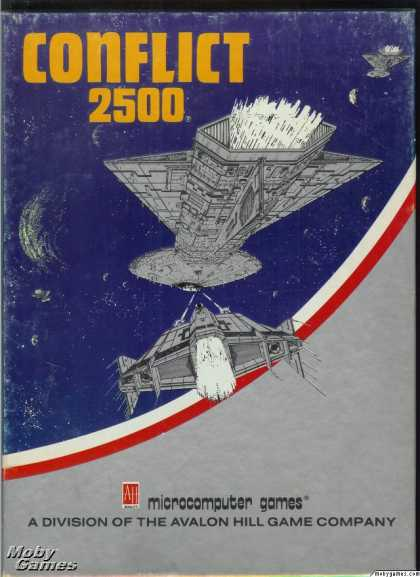 Apple II Games - Conflict 2500