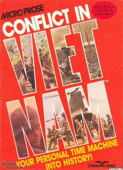 Apple II Games - Conflict in Vietnam