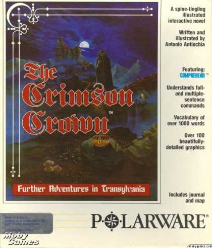 Apple II Games - The Crimson Crown