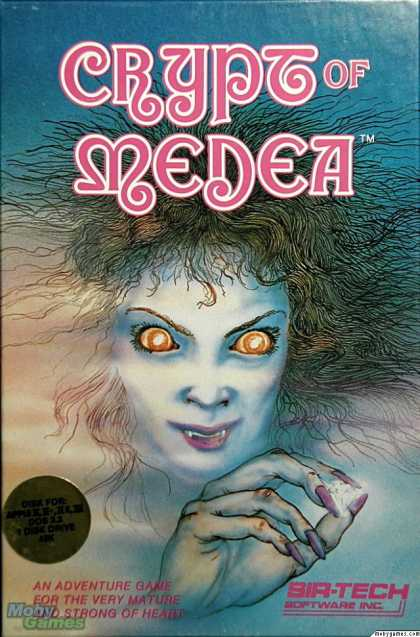 Apple II Games - Crypt of Medea