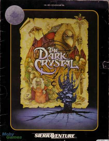 Apple II Games - The Dark Crystal