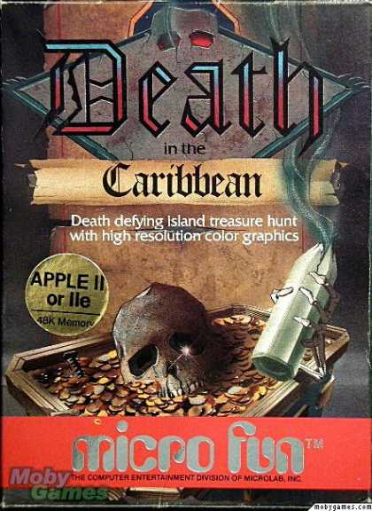 Apple II Games - Death in the Caribbean