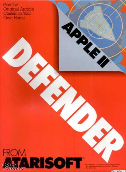 Apple II Games - Defender
