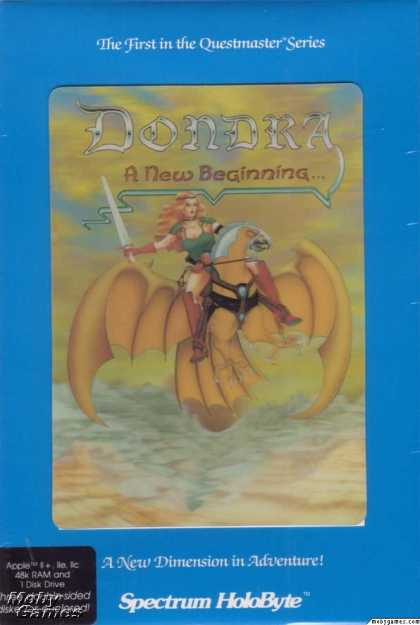 Apple II Games - Dondra: A New Beginning